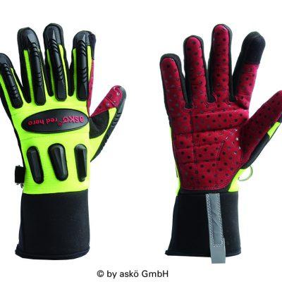 ASKO RED HERO rukavice
